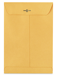 "6 1/2 x 9 1/2"" Kraft Clasp Envelopes"