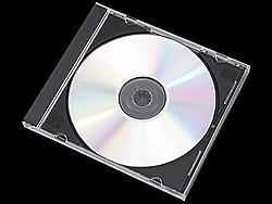 CD Jewel Cases - Black Tray