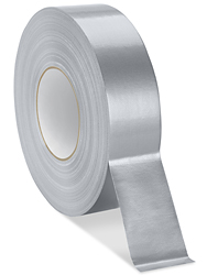 "2"" x 60 yards Silver Uline Heavy Duty Duct Tape"