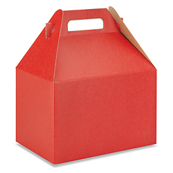 "9 x 6 x 6"" Gable Boxes"