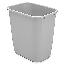 Rubbermaid Office Trash Can 7 Gallon Gray S 9970gr