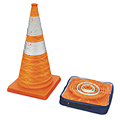 Pop-Up Lighted Cones