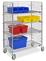 Wire Stock Picking Carts