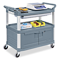 Service Cart with Cabinet