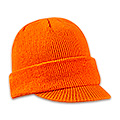 Blaze Orange Knit Hat