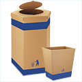Kraft Corrugated Receptacles