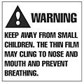 Suffocation Warning Labels