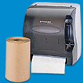 Roll Towels and Dispenser
