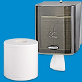Center Pull Towels and Dispenser