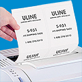 Uline Glossy White Laser Labels