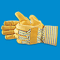 Deluxe Palm Leather Gloves