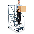 Safety Angle Rolling Ladders