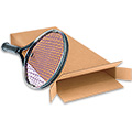 13 x 3 x 30 FOL Side Loading Corrugated Tennis Racquet Boxes