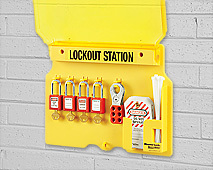 Lockout/Tagout Wall Mount Stations