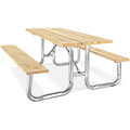 Steel Frame Picnic Table