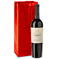 "High Gloss Shopping Bags - 5 x 3 1/2 x 13 1/4"", Wine"