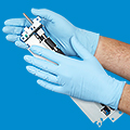 Uline Extra Tough Nitrile Gloves