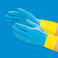 Neoprene Coated Latex Gloves