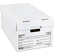 Uline Quick File Boxes