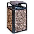 Rubbermaid Outdoor Trash Cans