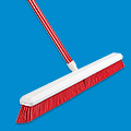 Colored Push Broom