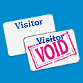 One Day Visitor Badge