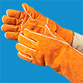 Welder's Heat Resistant Gloves