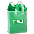 Custom Printed Frosty Shoppers Bags