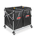 Rubbermaid® Collapsible Basket Trucks