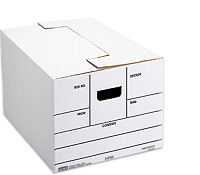 Uline Standard Storage File Boxes