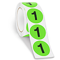 Inventory Control Number Labels