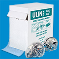 3/16 Uline Cold Seal Bubble 12 x 175 Roll perforated every 12