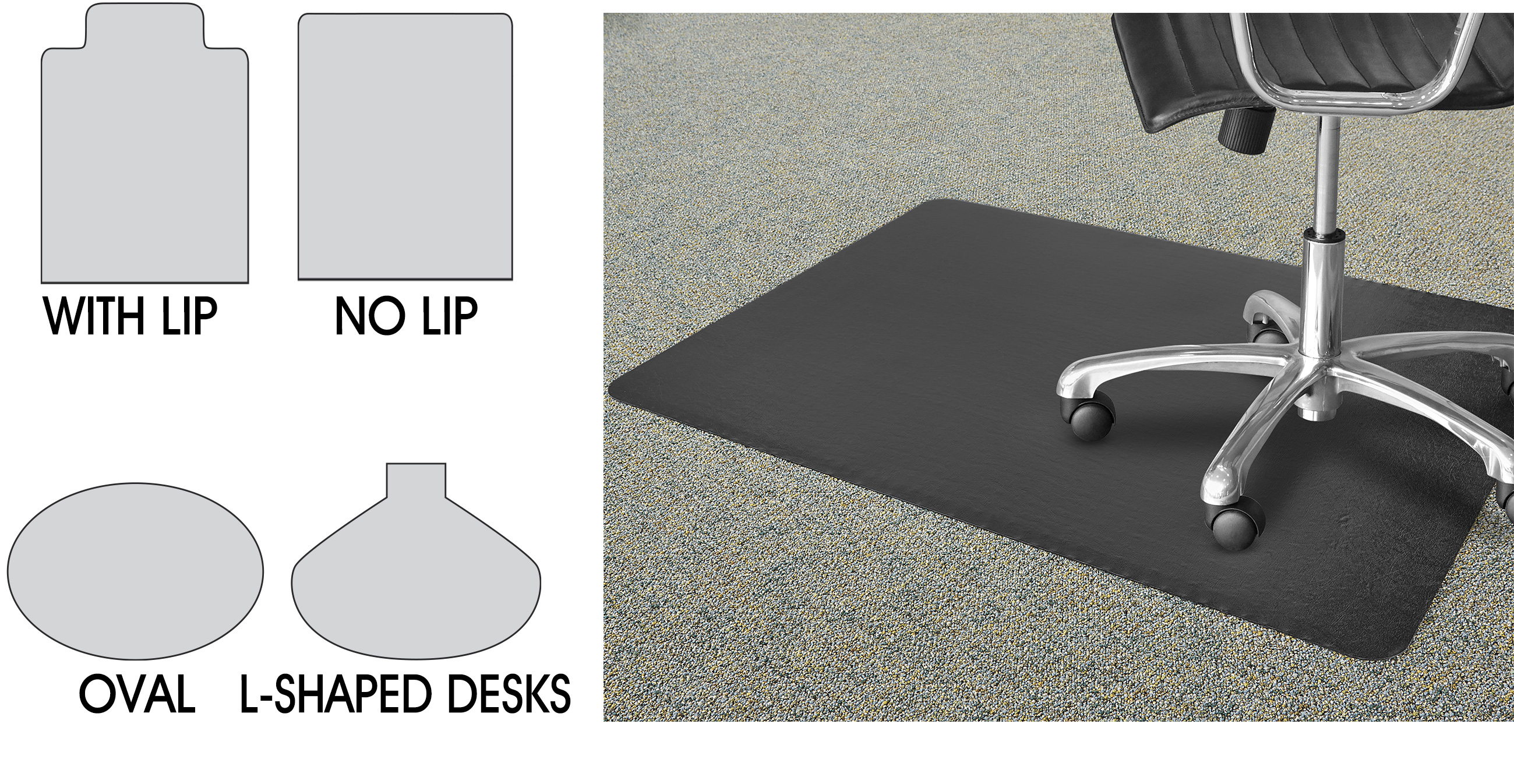 Genial Chair Mats, Chair Mats For Carpet, Office Chair Mats In ...