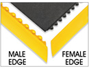 Female and Male Edges