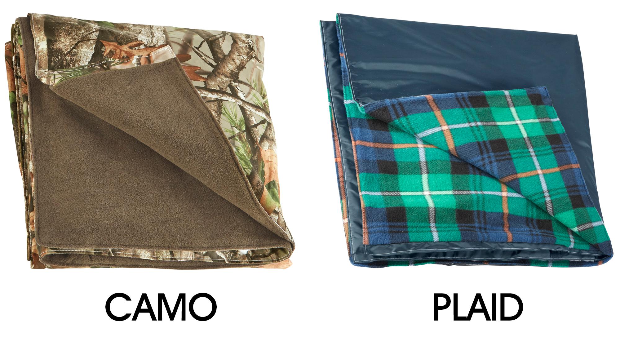 Camo Blanket In Stock Uline