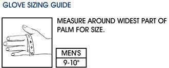 Measuring for Gloves