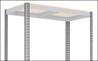 Post for Two-Shelf Wide Span Storage Racks