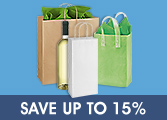 Uline Shopping Bags
