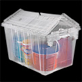 Clear Industrial Totes