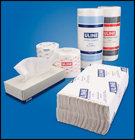 Uline Paper Product Sale