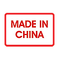 Made In China Labels