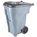 Lockable Trash Can with Wheels