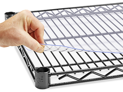 Fake-It Frugal: DIY Wire Shelf Liner