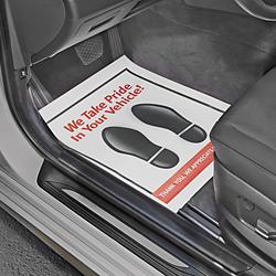 Paper Floor Mats Vehicle Paper Mats In Stock Uline