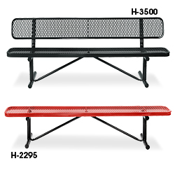 Outdoor Benches In Stock Uline