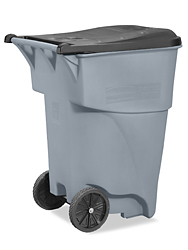 Rubbermaid 174 Trash Can With Wheels 95 Gallon H 1579 Uline