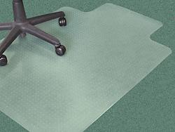 Carpet Chair Mat With Lip 46 X 60 Quot H 2045 Uline