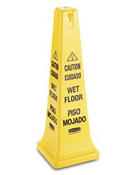 Rubbermaid 174 Wet Floor Cone Multi Lingual H 2838