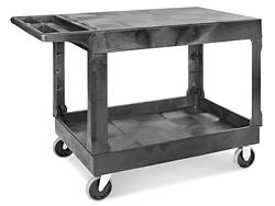 Uline Utility Cart With Flat Shelf 44 X 25 X 33 Quot H 3325