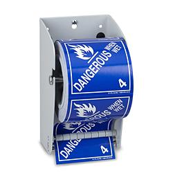 Uline Wall Mount Label Dispenser 4 1 2 Quot H 4690 Uline